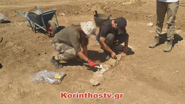 Ξεκίνησαν οι ανασκαφές στο Χιλιομόδι Κορινθίας: Η αρχαία πόλη της Τενέας έρχεται στο φως