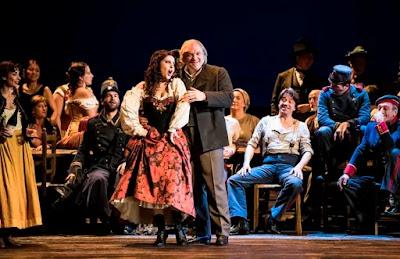 Verdi: La forza del destino - Varduhl Abrahamyan, Zeljko Lucic - Opera National de Paris (Photo Julien Benhamou / OnP)