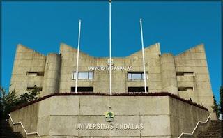 Pendaftaran Seleksi Jalur Mandiri Universitas Andalas 2017