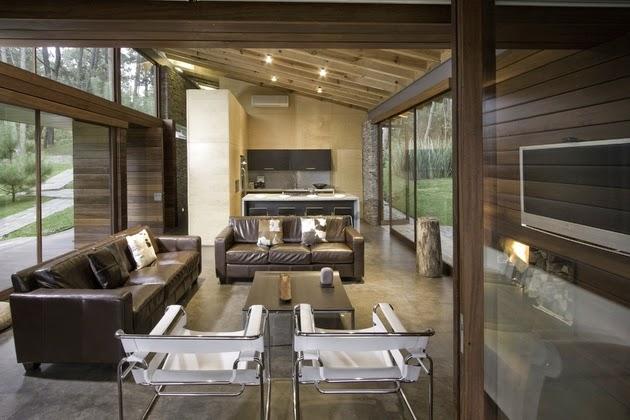 Ide Desain Rumah Kontemporer Alami