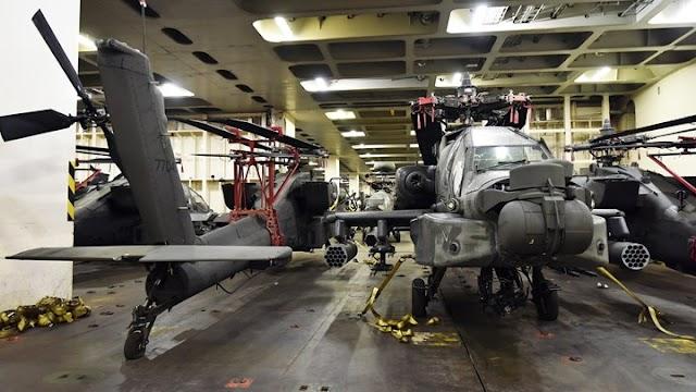 Έρχονται αμερικανικά Apache και Blackhawk στον Βόλο (ΦΩΤΟ)