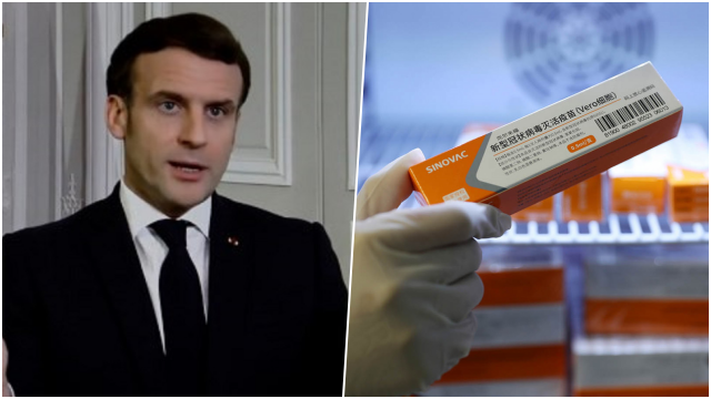 Tak Ada Informasi soal Uji Klinisnya, Macron Ingatkan Risiko Vaksin Covid Buatan China