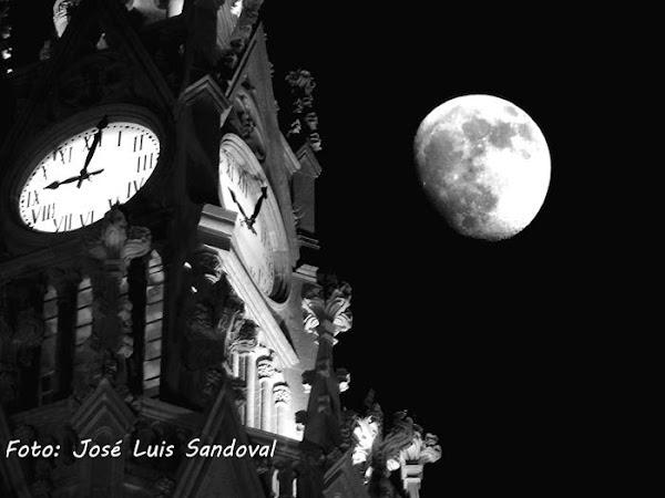 La luna rosa no es rosa. superluna 27 abril 2021