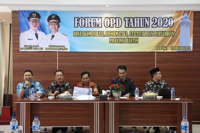 Diskominfo Banten Tingkatkan Pengelolaan e-Government