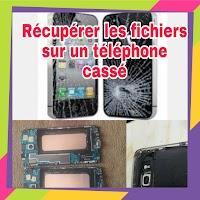 Comment récupérer les données d'un téléphone cassé : SMS, fichiers, photos, videos,