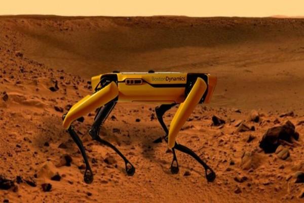 مهمة جديدة لروبوت بوسطن دينامكيس Spot على سطح المريخ!
