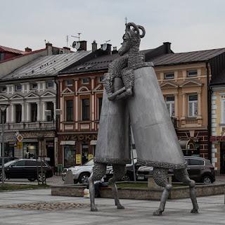 """'Dialog"""" na rynku w Nowym Targu"""