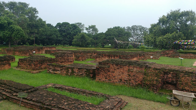 Old Structures at Temple Premises