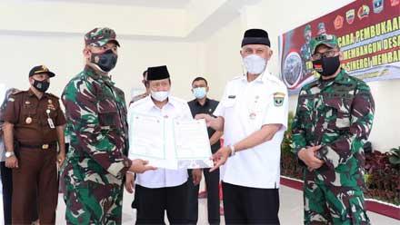 Gubernur Sumbar Buka TMMD ke-112 di Kabupaten Agam