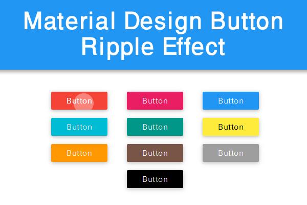 Membuat material design button ripple effect di blogger for Blog di design