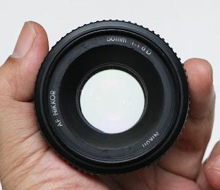 Lensa Fix Nikon 50mm f1.8 AF-D