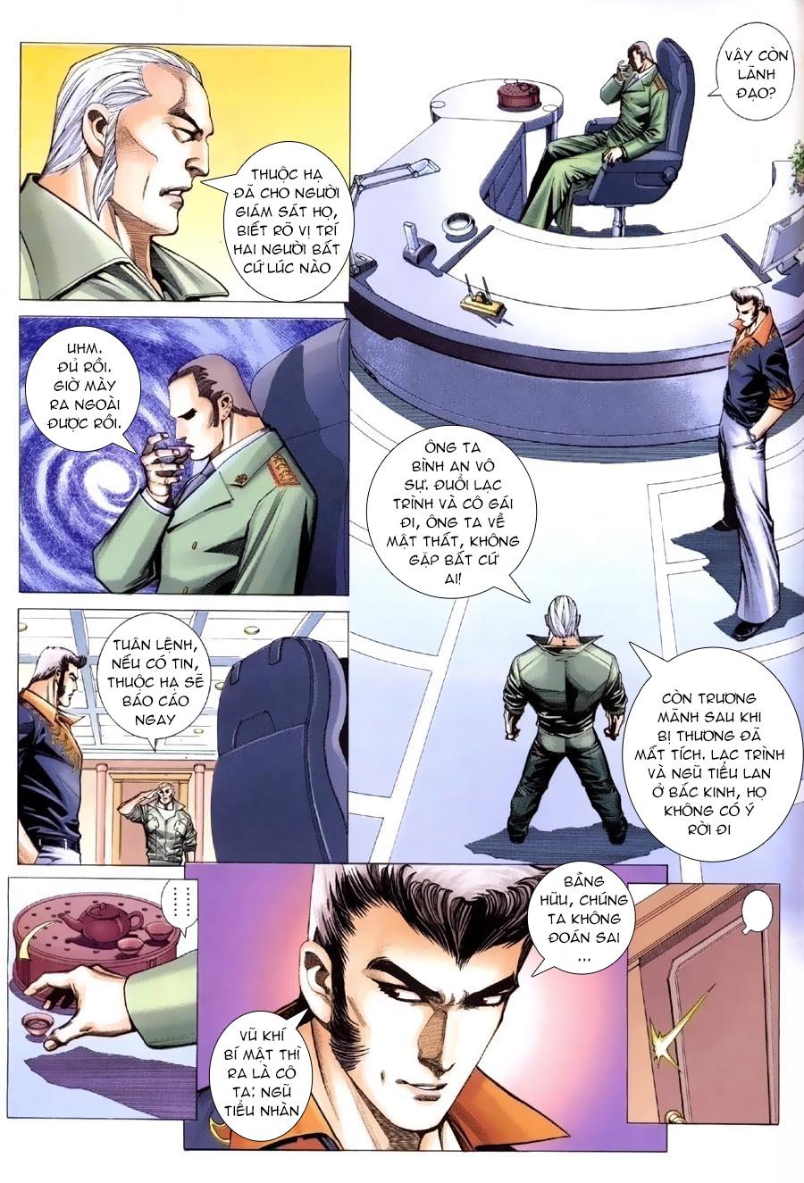 Xích Trụ Phạn Đường chap 13.2 - Trang 18