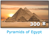 Pyramids of Egypt 300 piece jigsaw