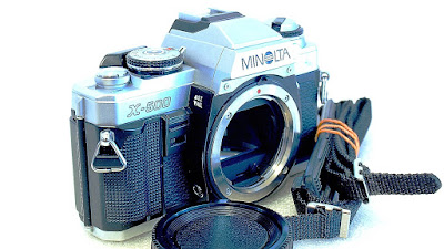 Minolta X-500 (Chrome) Body #051