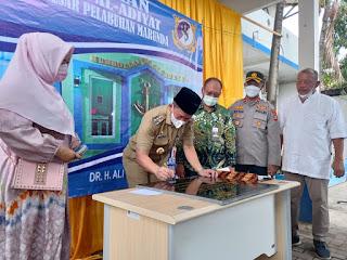 Wali Kota Jakarta Utara Apresiasi Positip KSOP Marunda Dukung Pembinaan Masyarakat Dengan Pembangunan Mushola