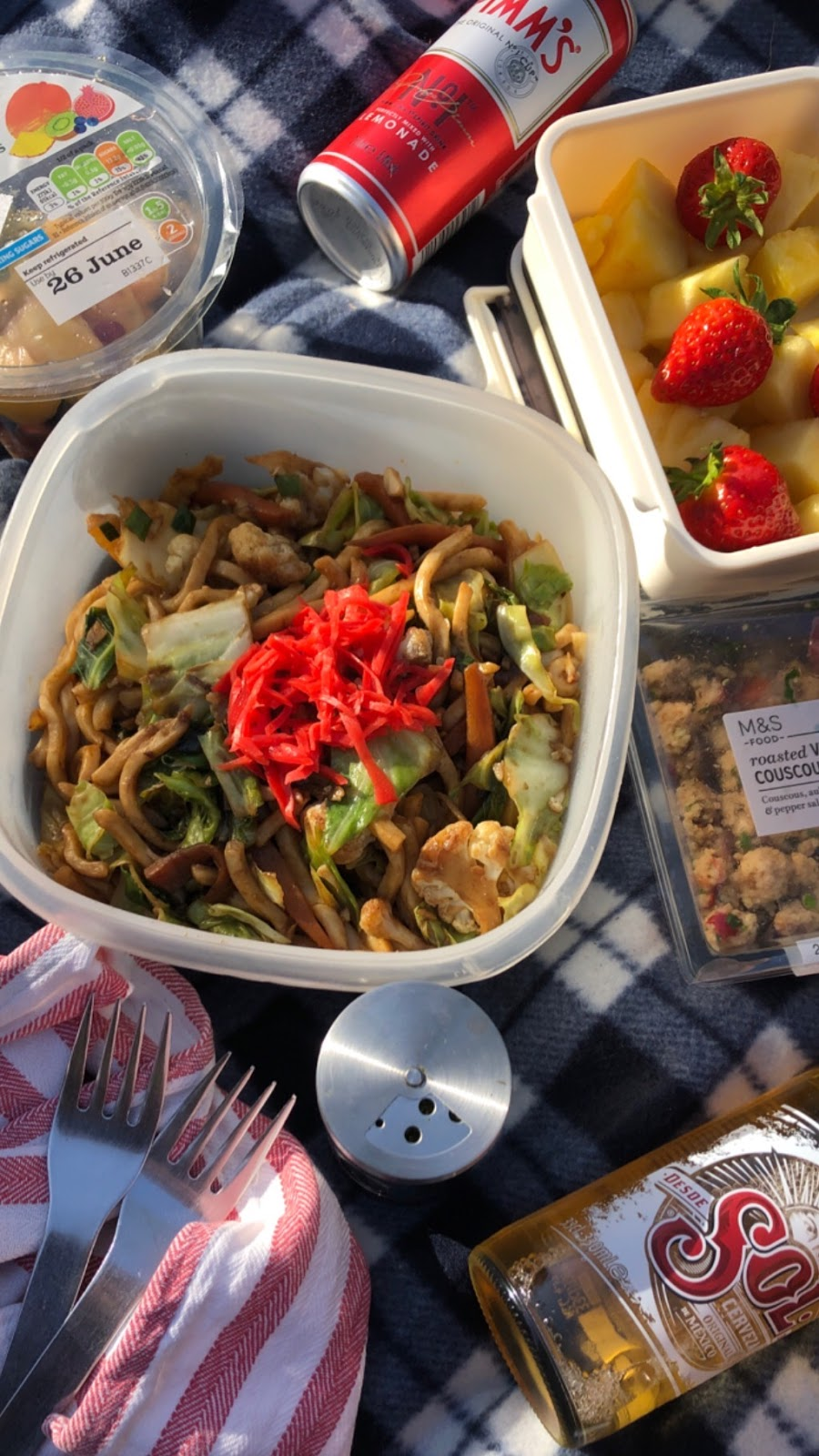 picnic, food blogger, lifestyle, flatlay, sol, london