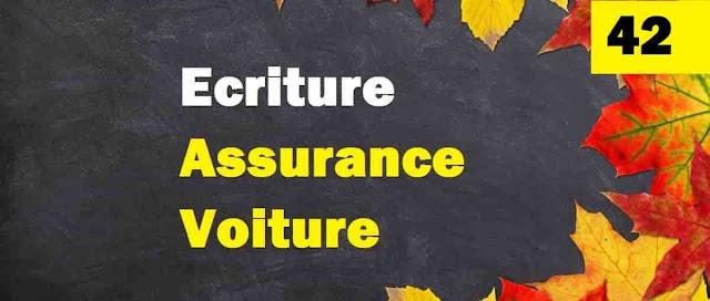 Ecriture comptable assurance voiture