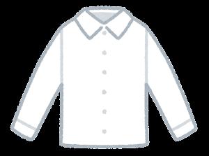 シャツのイラスト(白)