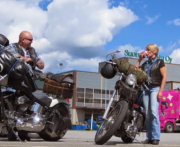 Harley sporster softail chopper imatra