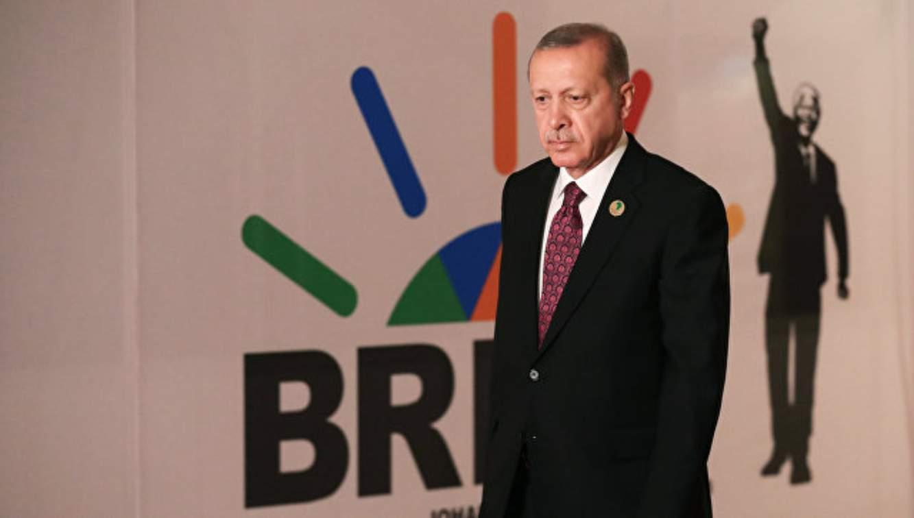 Erdogan minta Turki menjadi anggota BRICS