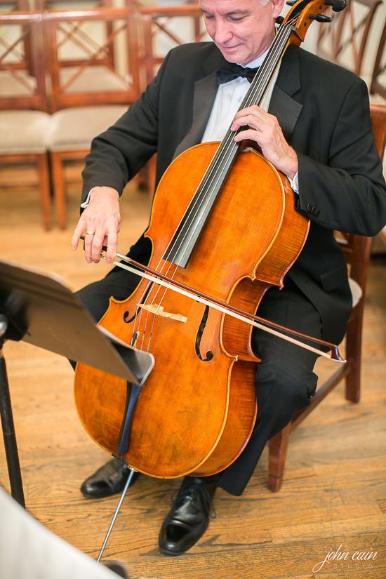 Mitch Maxwell, cello - Gyros String Quartet, at Perkins Chapel