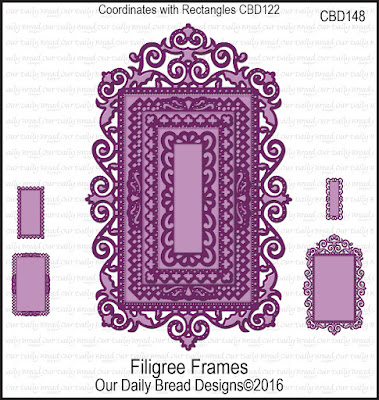 ODBD Custom Filigree Frames Dies