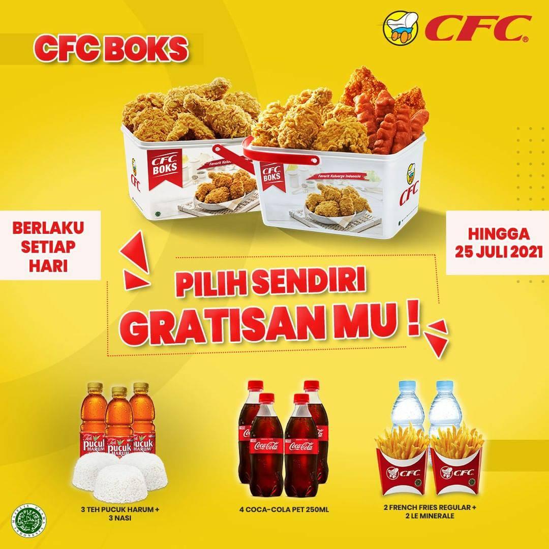 CFC Promo CFC BOKS (Pilih Sendiri GratisanMu)