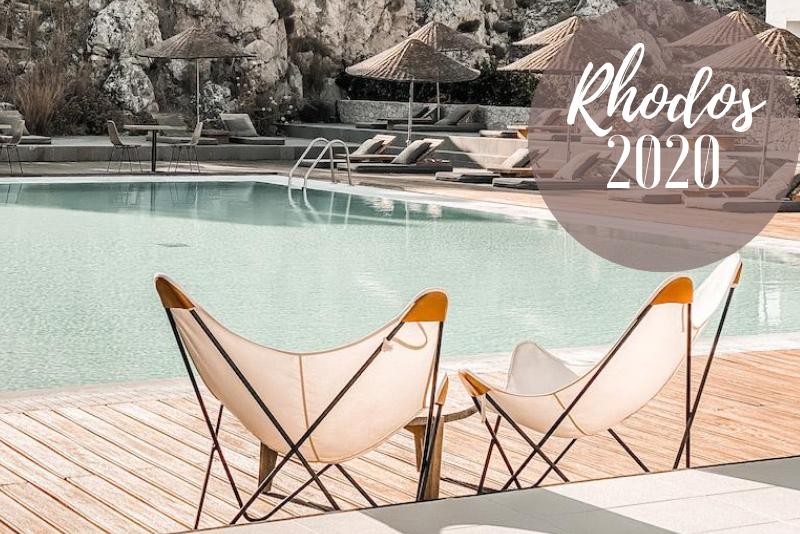 Casa Cook Rhodos 2020 Blick von der Bar auf den Pool