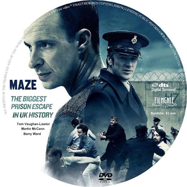 Maze DVD Label
