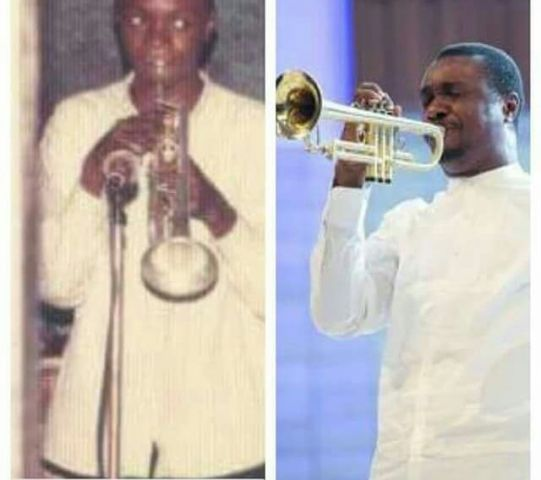 Nathaniel Bassey served some motivation for his fans and followers