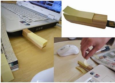 usb de madera
