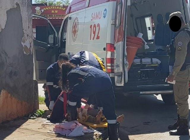 Barreiras-BA: Mulher desmaia após ser espancada pelo companheiro