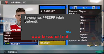 Cara Mengatasi PES JOGRESS FC (FORCE CLOSE)