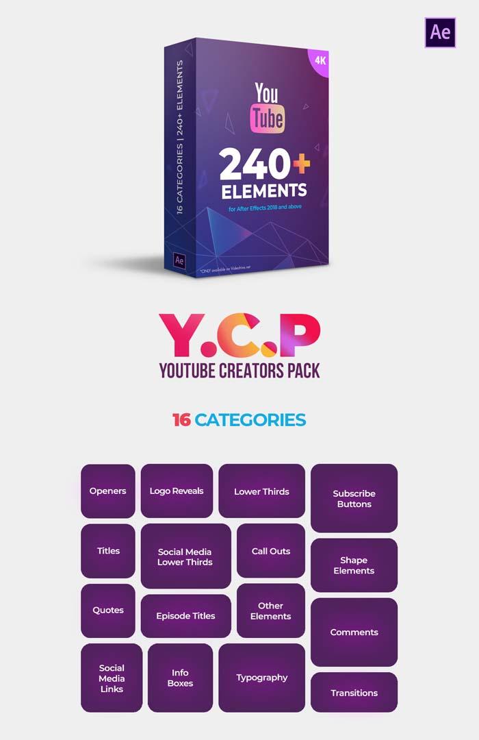 Videohive - Youtube Creators Pack