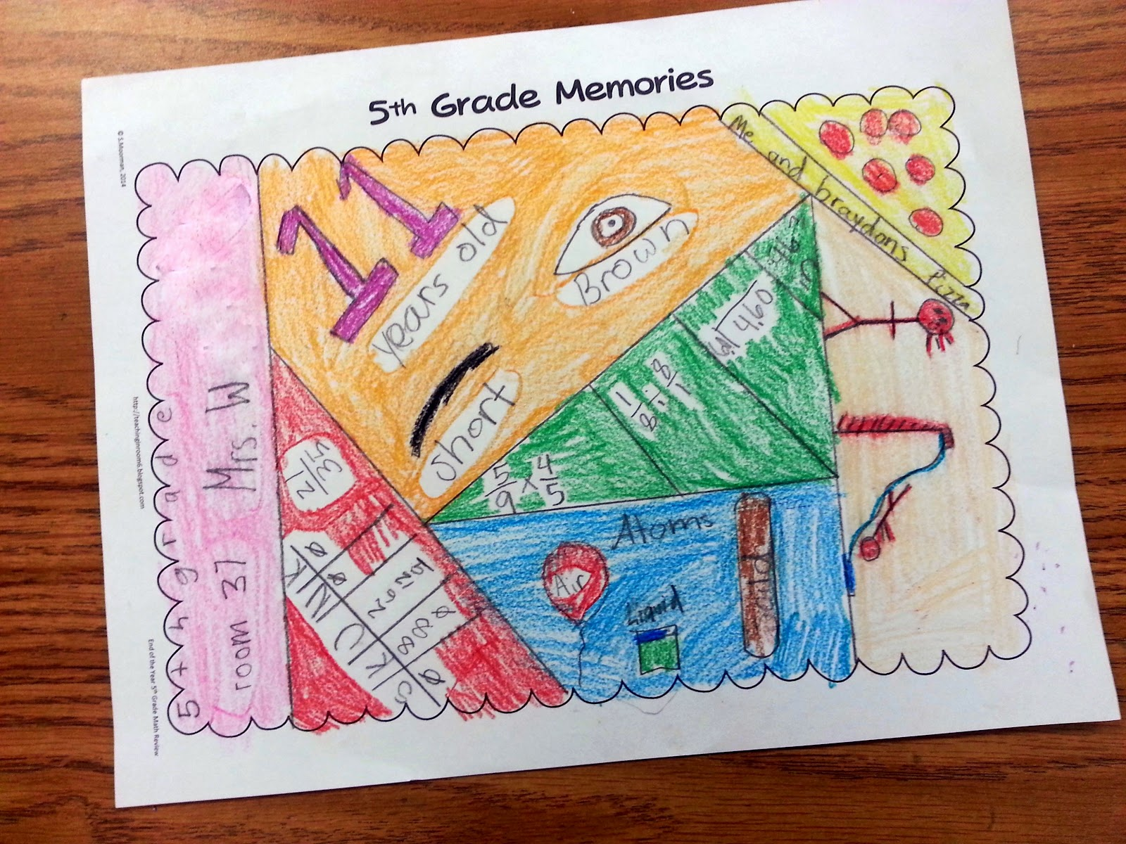 Last Day Of School Activities For 5th Graders