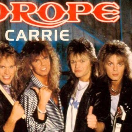 Carrie, Prestasi Tertinggi Europe di Tangga Lagu