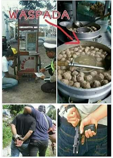 Waspada Bagi Yang Suka Makan Bakso Yang Dijual Pedagang Keliling - Cerita Lucu Pendek