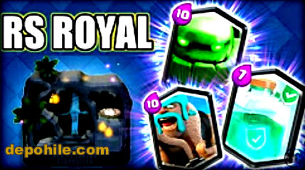 "Clash Royale ""Crazy Royale V2"" Yeni Kartlar Hile Apk 23.07.2018"
