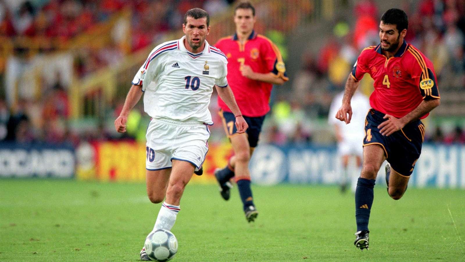 zidane-guardiola-espana-francia-spain-euro-2000