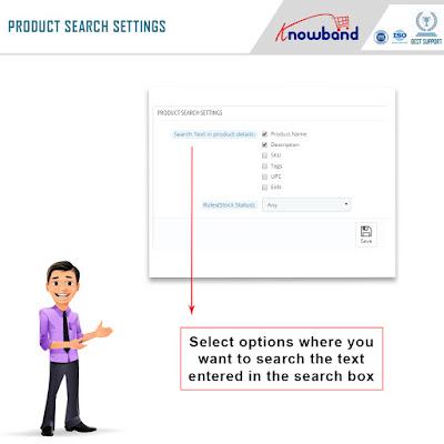 PrestaShop auto suggest search settings