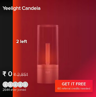 (Mi offer) -Get MI branded products free on shareSave by Xiaomi.