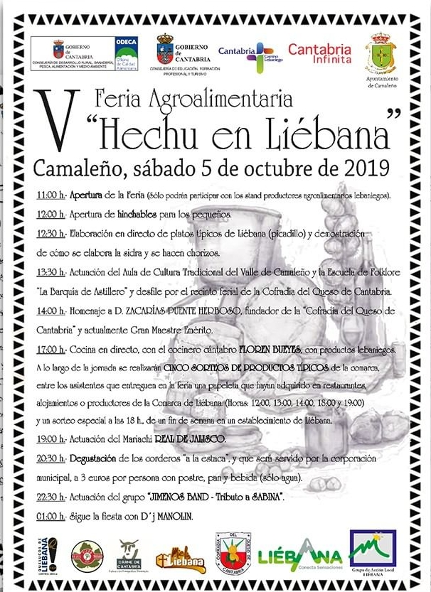 "V Feria Agroalimentaria ""Hecho en Liébana"" en Camaleño"