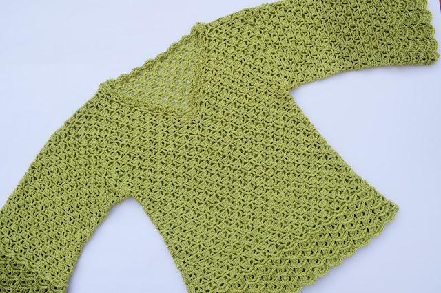 6 - Imagen Crochet Blusa de mujer a crochet y ganchillo parte 2 por Majovel Crochet