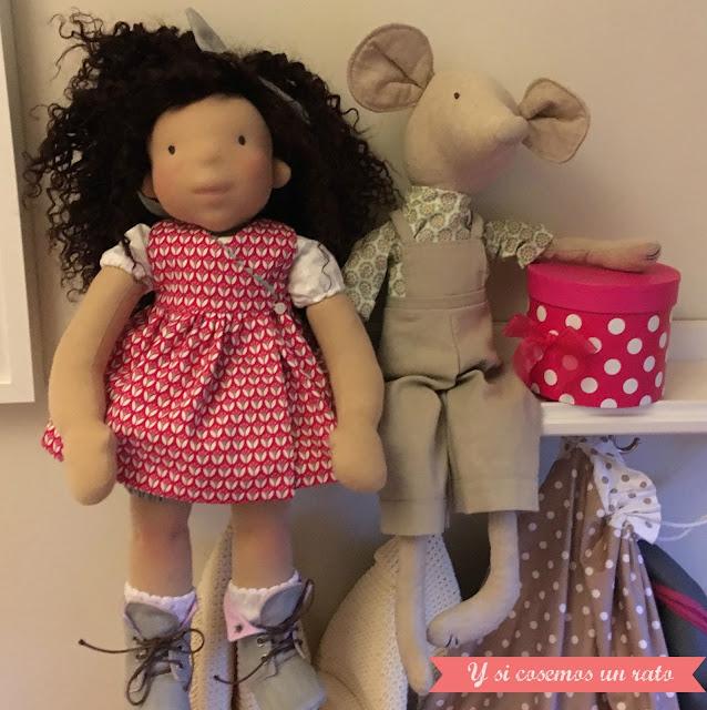 waldorf doll, muñeca waldorf, muñeca de tela, fabric doll