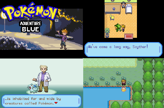 Pokemon Adventures Blue Chapter GBA ROM Download
