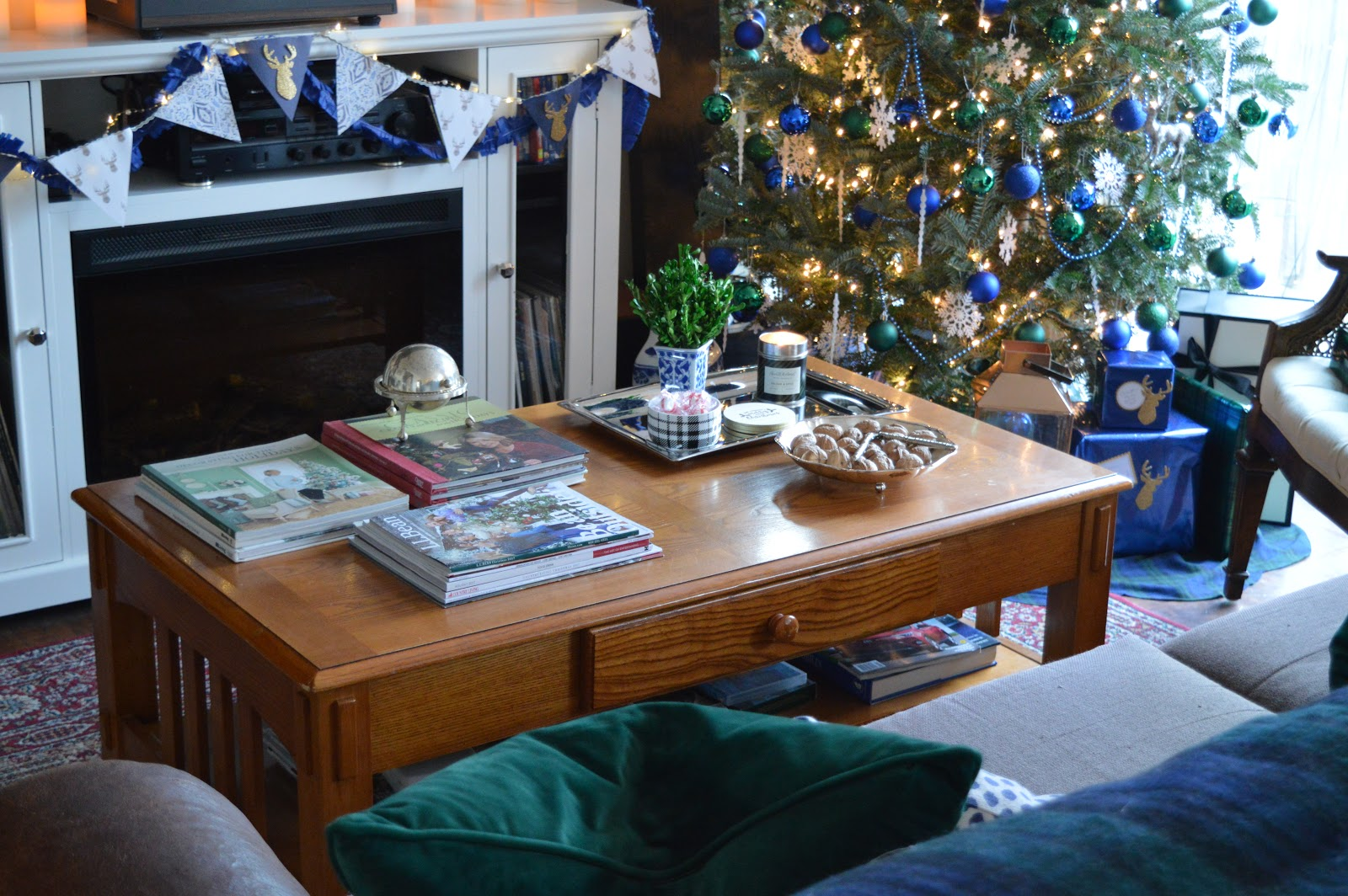Blue & Green Christmas