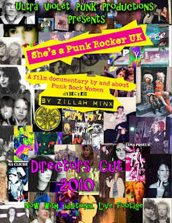 Wyrd Britain reviews Zillah Minx's celebration of female punks in She's a Punk Rocker.