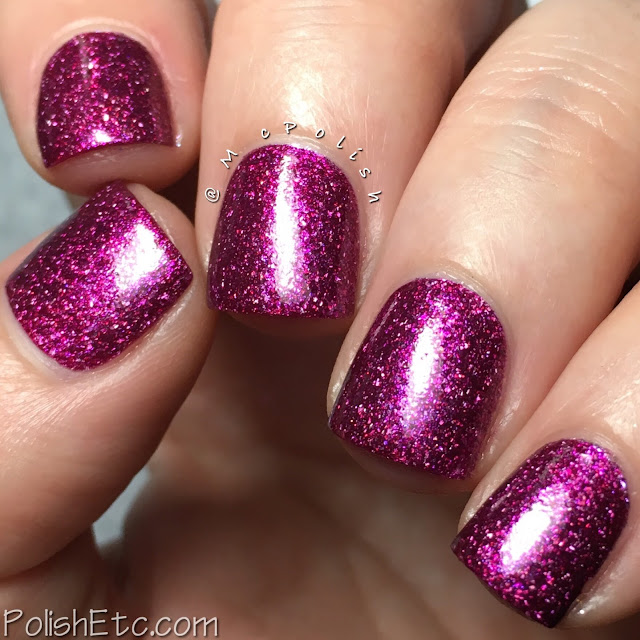 Road to Polish Con - Week 11 - McPolish - Enchanted Love by Noodles Nail Polish