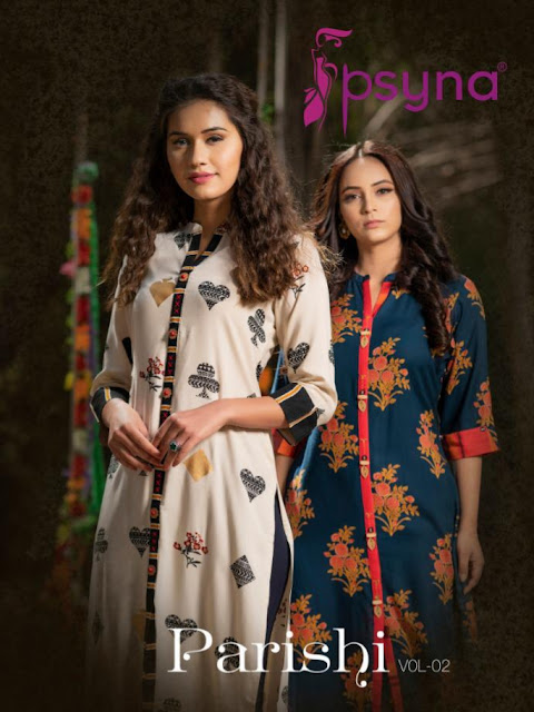 Psyna Parishi vol 2 Kurtis catalog wholesale price