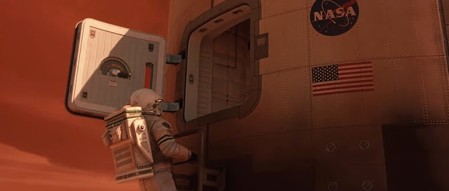 Entering Mars ascent vehicle - Mission to Mars movie image